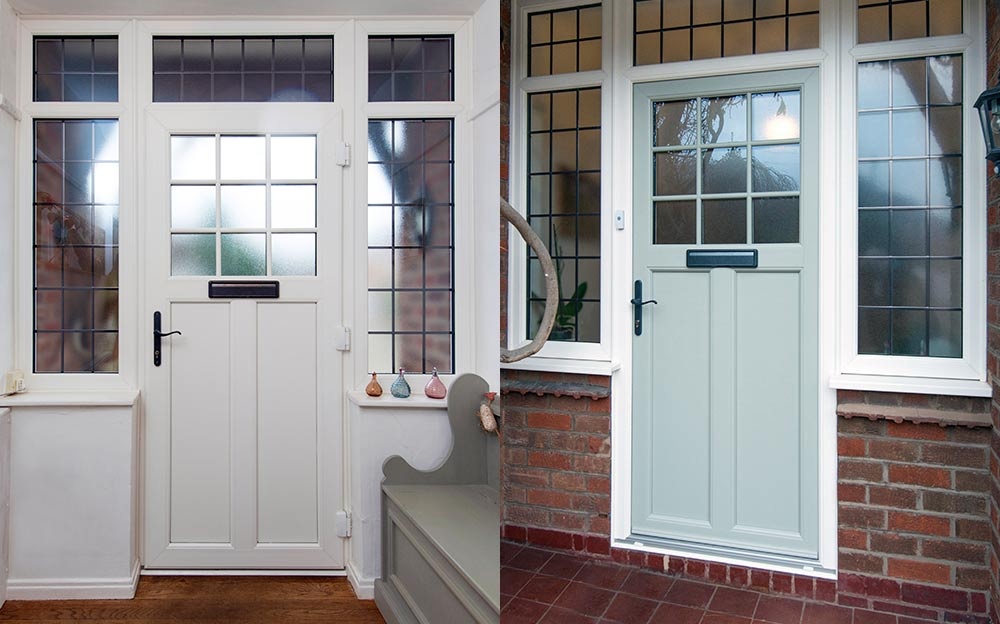 Suffolk Door Collection - The Ixworth & The Ixworth Style from the Suffolk Door Collection PVC-u