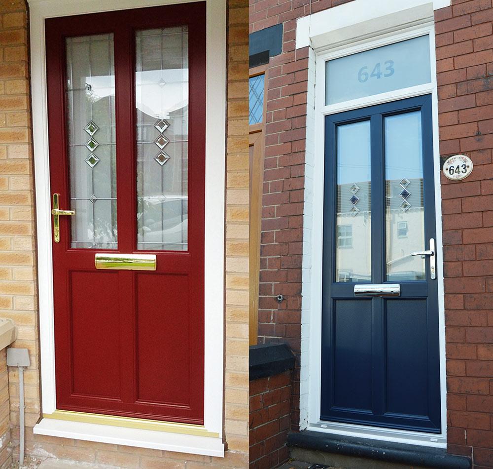 Suffolk Door Collection - Colour Options & Colour Options for Suffolk Door Collection PVC-u door styles