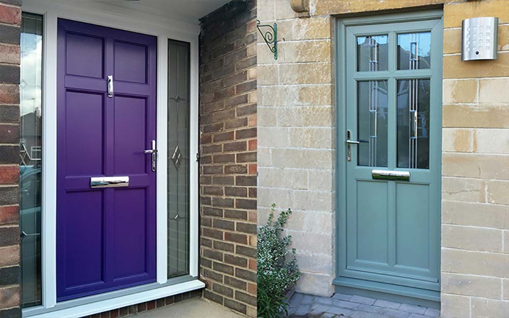 The Lavenham Style From The Suffolk Door Collection Pvc U